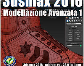 023 3ds max 2016 Modellazione Avanzata 1 v23 CD
