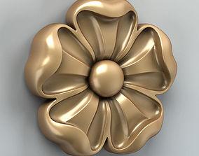 Round rosette 007 3D model