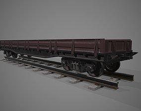 3D model Platform car