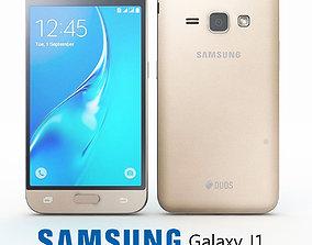3D model Samsung J1 Gold