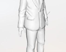 3D model Donald Trump donald