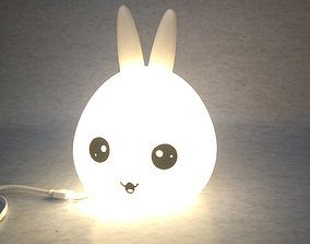 3D printable model Night light Bunny head
