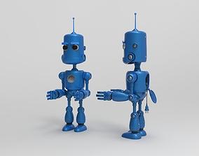 Cartoon Robot 3D model characters