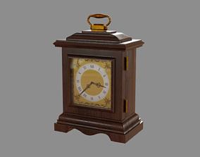 Table wooden clock 3D