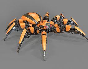 3D model Spider Robot 2