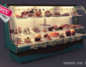 3D Showcase cake commercial stand