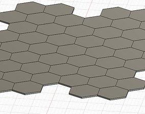 3D printable model Honeycomb floor tiles