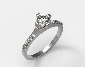 3D printable model Engagement Ring PG brilliant