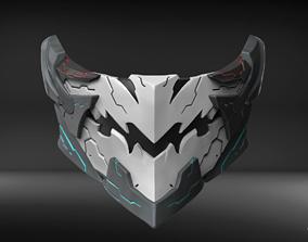 Orbital Frame Custom Mask Fan Art 3D printable model