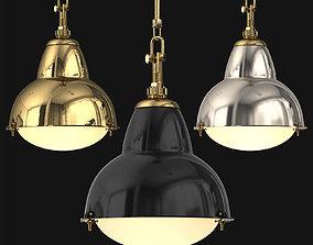 3D 1950s Paris Street Lamp Pendant
