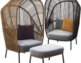 3D Cocoon chair by Dedon