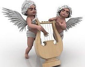 3D printable model 3D model angel