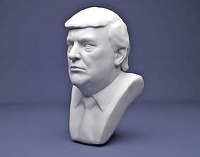 Donald Trump famous 3D printable model