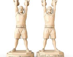 3D printable model Kettlebell lifting