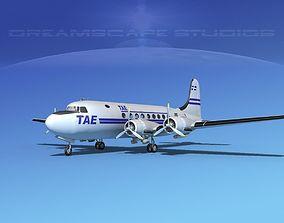 3D model Douglas DC-4 TAE