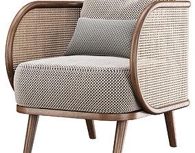 Carry rattan dining chair IK12 3D