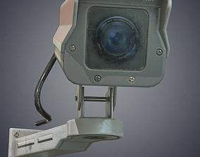 Security cameras 3D model realtime