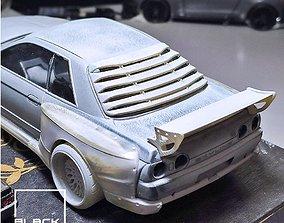 3D printable model GTR R32 Louver and Wing for tamiya 3