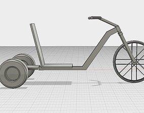 Simple Drift Trike No Motor 3D printable model