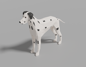 3D model Cartoon Dalmatian