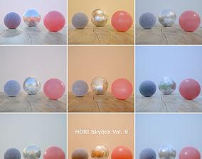 3D asset HDRi Vol 9 Skybox Collection