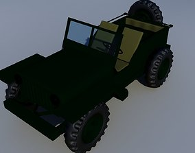 3D Wily Jeep