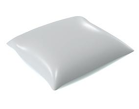 3D model PBR Blank mayonnaise bag mock up