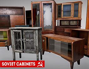 SOVIET FURNITURE PACK 3D asset