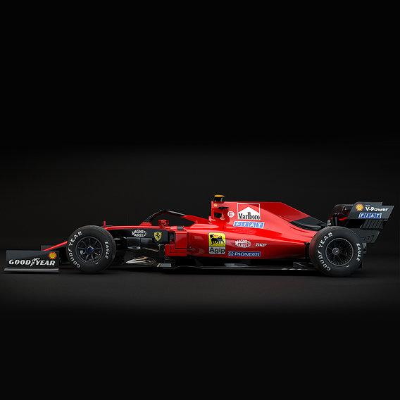 Ferrari Retro