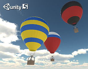3D asset Hot Air Balloons