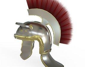 3D asset Centurian Helmet
