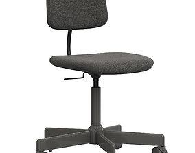 3D model BLECKBERGET Swivel chair
