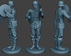 German musician soldier ww2 Stand 3D printable model 1