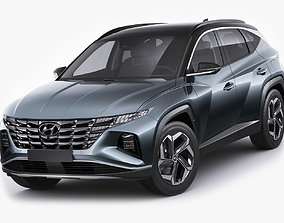 3D model Hyundai Tucson 2021
