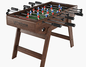 3D model table football Fortuna Sherwood FDH-430