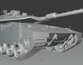 Merkava IV tanks 3D print model