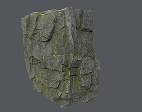 3D model Unreal Engine 4 Block Rock