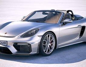 Porsche 718 Boxster Spyder 2020 3D