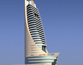 3D Etisalat telecommunications building