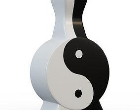 Vase Yin-Yang 3D model
