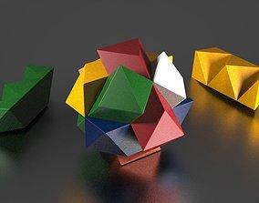 3D print model IQ test puzzle