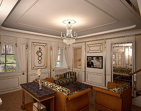 Ampir Neoklasik Liveroom Leonardo DiCaprio 3D model