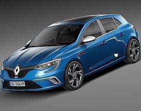 Renault Megane GT 2016 3D