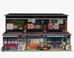 3D asset Nagaya House