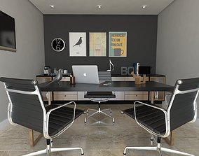 3D model home office