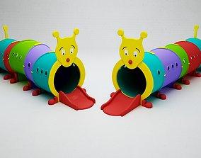 CATERPILLAR CHILDREN PLAY PROPS 3D asset