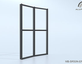 Aluprof MB-SR50N EI EFEKT 016 M-0355 3D