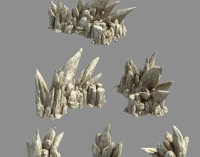 Kunlun Mountains - Rock 05 3D model