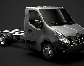 Renault Master SingleCab DW E20 Chassis 2014 3D