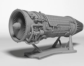 jet engine for Print 3D printable model
